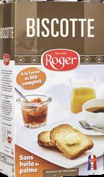 Biscottes aixoises à la farine complète LES BISCOTTES ROGER, 250g