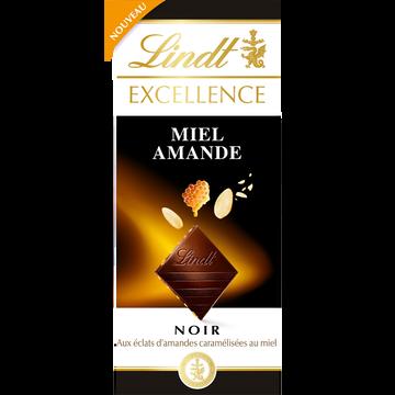 Excellence Excellence Noir Miel Amandes Lindt 100g Std