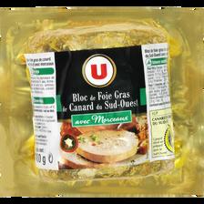 Canard Bloc De Foie Gras De  Igp Du Sud-ouest 30% De Morceaux U, Sous Vide 300g