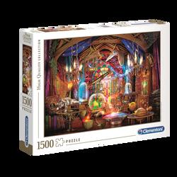 Puzzle 1500 pièces high quality CLEMENTONI Wizards workshop