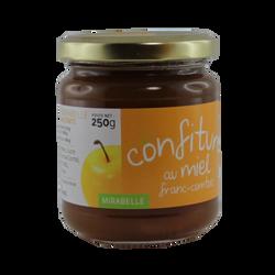 Confiture mirabelle miel de Franche-Comté, 250g