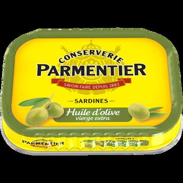 Parmentier Sardines À L'huile D'olive Vierge Extra Parmentier, 135g