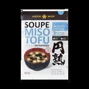 Hikari Miso Soupe Instantanée Miso Tofu Algues Wakame Hikari Miso, 58g