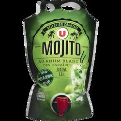 Pouch Up, U, mojito, bouteille de 1,5L