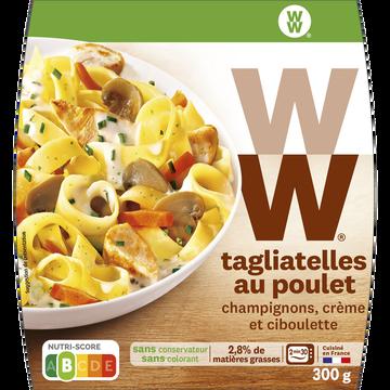 WeightWatchers Tagliatelles Au Poulet, Champignons, Crème Et Ciboulette Weight Watchers, 300g