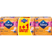 Nana Serviettes Ultra Normal Nana, 2 Paquets De 16 + 1 Offert