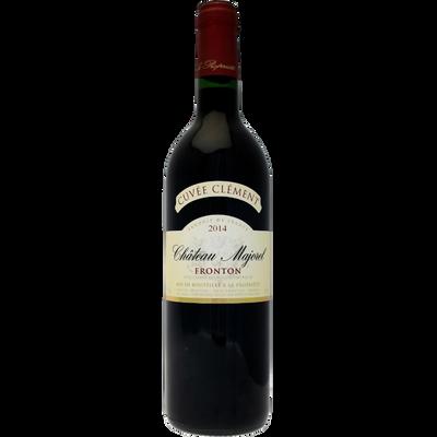 Vin rouge Fronton AOC CHATEAU MAJOREL Cuvée Clément, bouteille de 75cl
