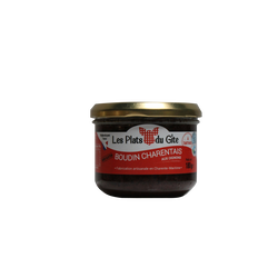 Boudin noir aux oignons à tartiner PLATS DU GITE, bocal de 180g