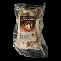 Manchon de canard confit, 500g sous vide