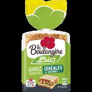 La Boulangère Pain De Mie Bio Aux Céréales Et Graines La Boulangere 500g