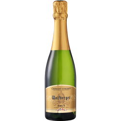 Crémant d'Alsace blanc brut WOLFBERGER, 37,5cl