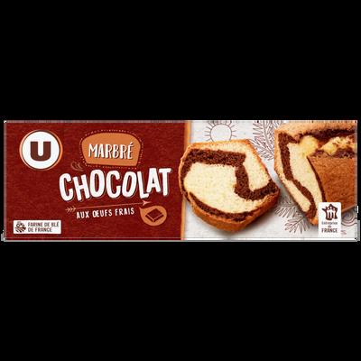Gâteau marbré chocolat U, étui de 300g