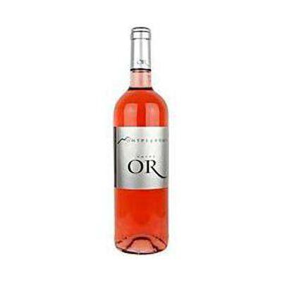 Vin rosé AOC Côteaux du Languedoc cuvée Or, 12,5°, 75cl
