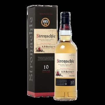 Scotch Scotch Whisky Single Malt Stronachie, 10ans, 43°, 70cl Sous Étui