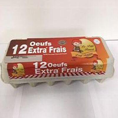 OEUFS EXTRA FRAIS X12