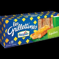 Grillettines équilibre BRIOCHE PASQUIER, paquet 242g
