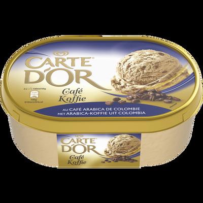 Crème glacée café CARTE D'OR, 500g
