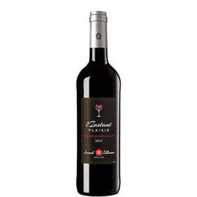 Vin Rouge, L'instant plaisir, IGP Côtes Catalanes, Arnaud de Villeneuve, bouteille de 75Cl