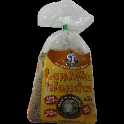 Lentille blonde, sachet 500g