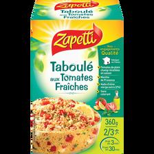 Préparation pour taboulé aux tomates fraîches ZAPETTI, 360g