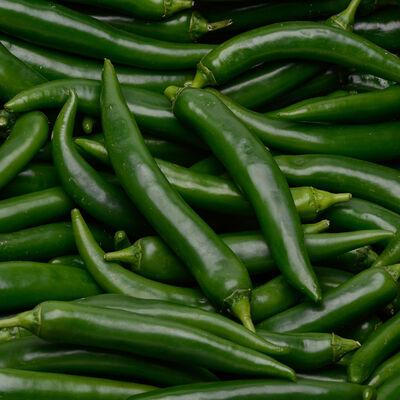 Piment vert -  cat 1 - Maroc