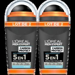Déodorant 5en1 carbon intense ice MEN EXPERT bille 50ml