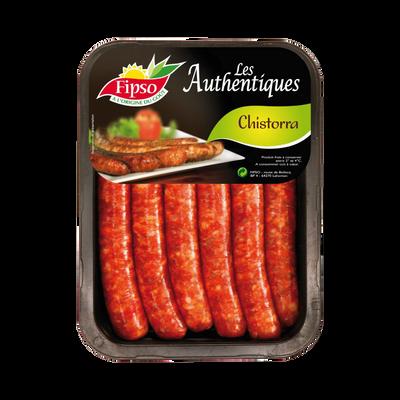 Saucisse au piment chistorra, France, Barquette, 330g
