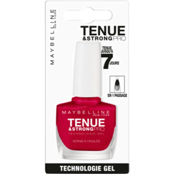 Vernis à ongles tenue & strongpro 08 passionate MAYBELLINE, sous blister