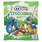 Lou Gélifiés Crocodile U Mat & Lou, Sachet De 250g