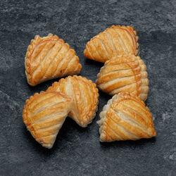 Mini chausson aux pommes pur beurre, U, 6 pièces, 180g