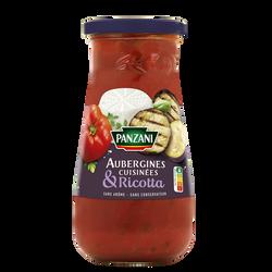 Sauce aubergines cuisinées / ricotta PANZANI 400g