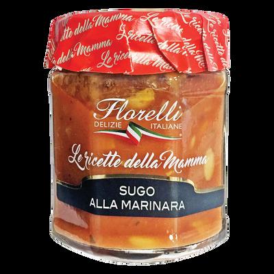 Sauce tomate à l'ail, aux câpres et à l'anchois FLORELLI, 200g