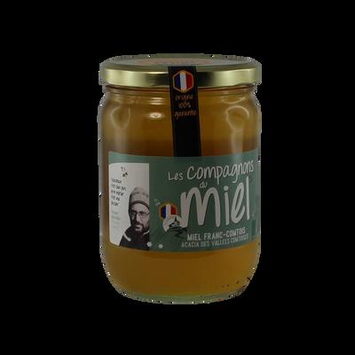 Miel d'acacia de Franche-Comté COMPAGNONS DU MIEL, 750g