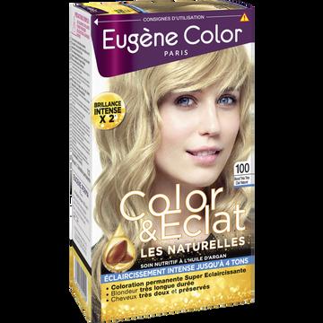Eugène Color Coloration Permanente Blond Très Très Clair Naturel N°100 Eugène Color, X2