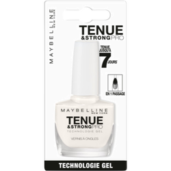 Vernis à ongles tenue & strong pro 71 p.white MAYBELLINE, sous blister