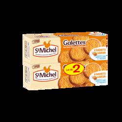 Galettes ST MICHEL, lot de 2 paquets, soit 260g