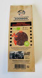 Thé rouge rooibos bourbon vanille BIO, ATELIER DES CAFES ET THES, paquet 100g