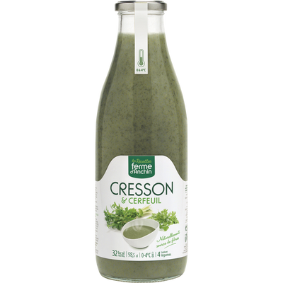Soupe cressons cerfeuil, 985ml