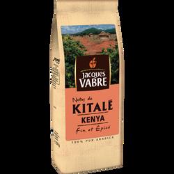 Café moulu origine Kenya Kitalé JACQUES VABRE, paquet de 250g