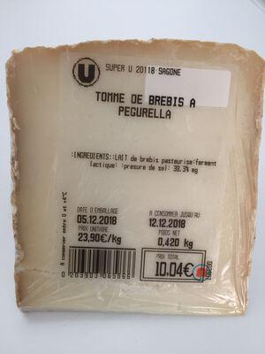 TOMME DE BREBIS A PEGURELLA