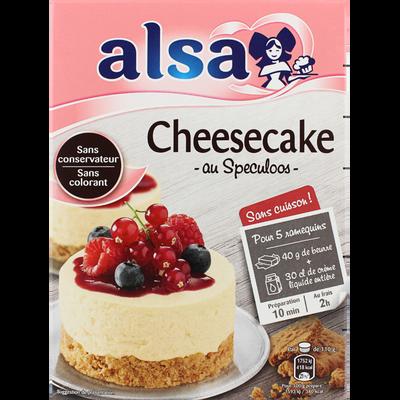 Préparation cheese cake ALSA, x8, 212g