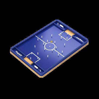 FOOTBALL DE TABLE FINGABOL-PLATEAU EN BOIS ET LIGNAGE SERIGRAPHIE-SE JOUE AVEC LES DOIGTS