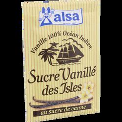Sucre vanillé des Isles ALSA, 7 sachets soit 53g