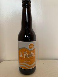 Bière bio ambrée - La Piautre 33cl