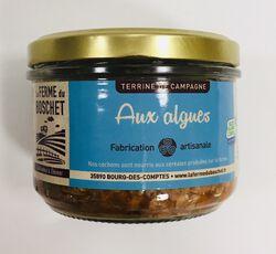 Terrine de campagne aux algues, LA FERME DU BOSCHET, bocal 190g