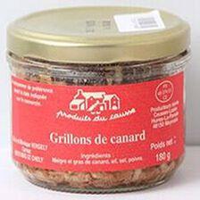 Grillons de canard, Produits du causse, 180g