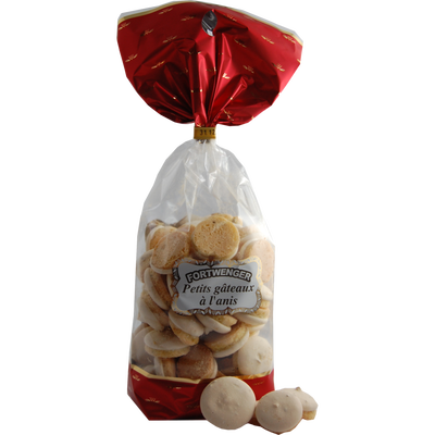 Petits Biscuits à l'anis FORTWENGER, 175g