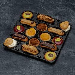 Mini gâteau lunch classique décongelé, 16 pièces, 400g