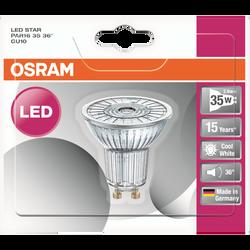 Ampoule led prémium OSRAM, spot, 35W GU10, verre lumière froide