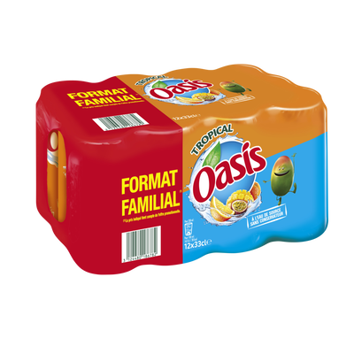 OASIS tropical, 12x33cl